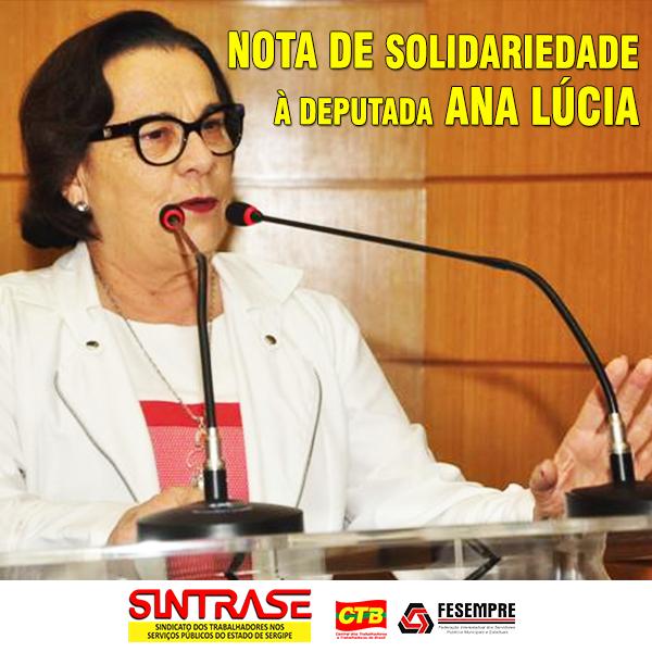 Ana Lúcia - deputada